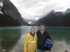 Katie and Luke in Banff in Alberta Canada.