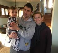 Luke, Katie and Luke's nephew