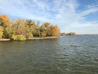 A lake near our home