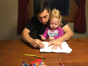 Luke and Ellie coloring