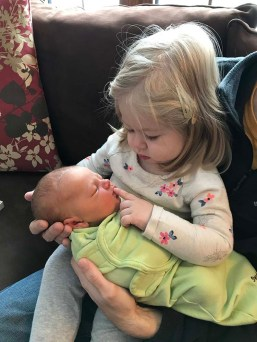 Ellie meeting Charlie for the first time