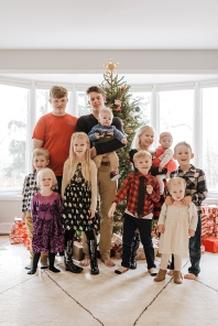 Cousins on Katie's side of the family at Christmas 2019